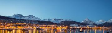 Ushuaia in the evening