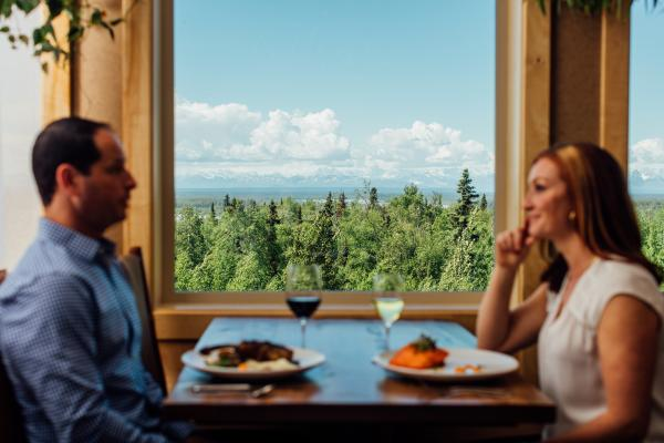 Dining with views at Foraker Restaurant
