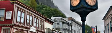 Explore downtown Juneau