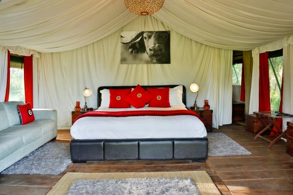Luxury canvas rooms at Lemala Ngorongoro Lodge