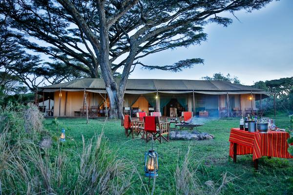 Evening at Lemala Ngorongoro Lodge