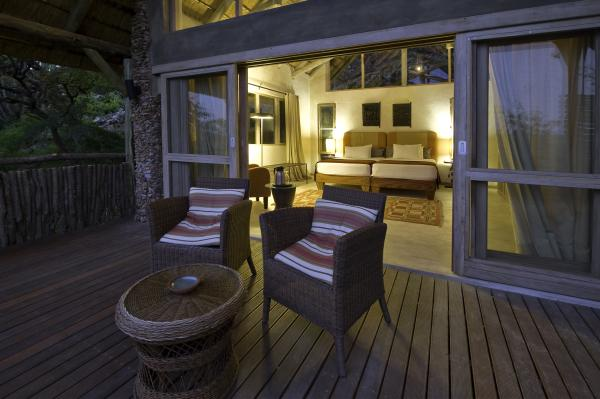 Enjoy the cool evenings from your private porch