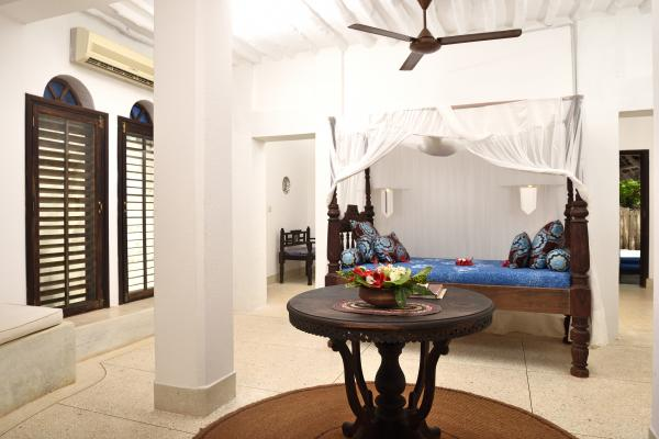 Spacious bedroom of the Monsoon Villa