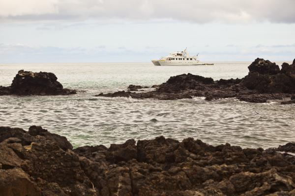 Cruising in the Galapagos - Bachas Beach on Santa Cruz