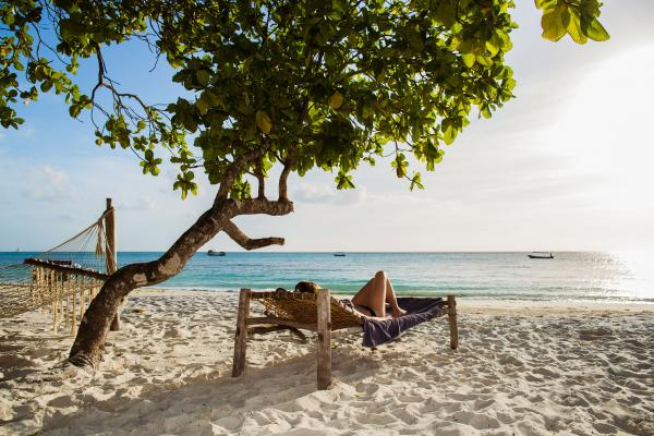Relax to the sound of the ocean at Manta Resort