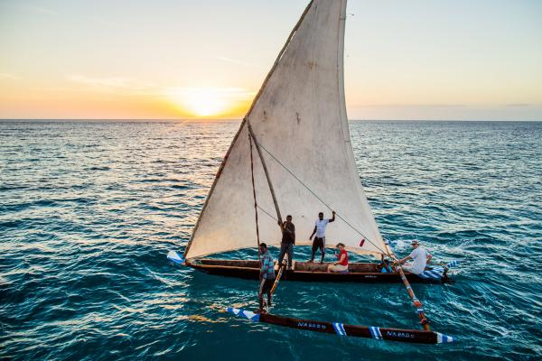 No visit to Pemba Island is complete without a Dhow ride