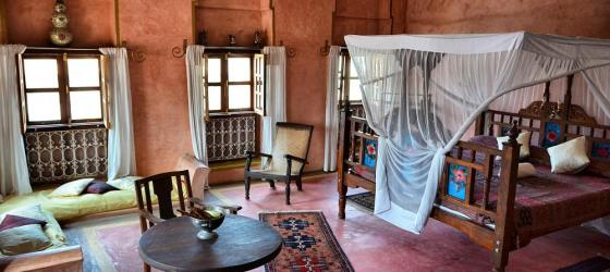 Luxury and spacious bedrooms at Zanzibar Coffee House