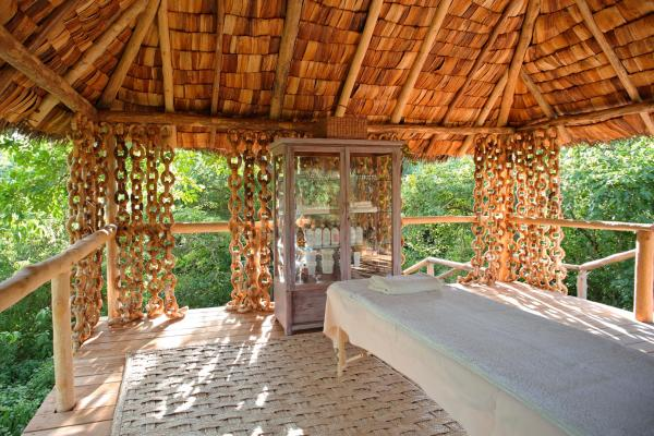 &Beyond Lake Manyara Tree Lodge, Spa