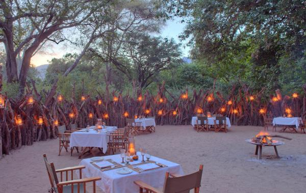 Unforgettable dinner experiences at the &Beyond Lake Manyara Tree Lodge