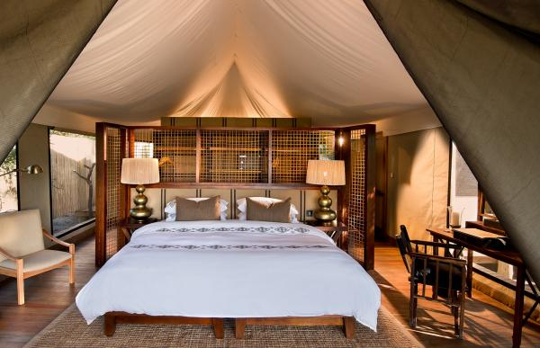 &Beyond Nxabega Okavango Tented Camp, Safari Tents