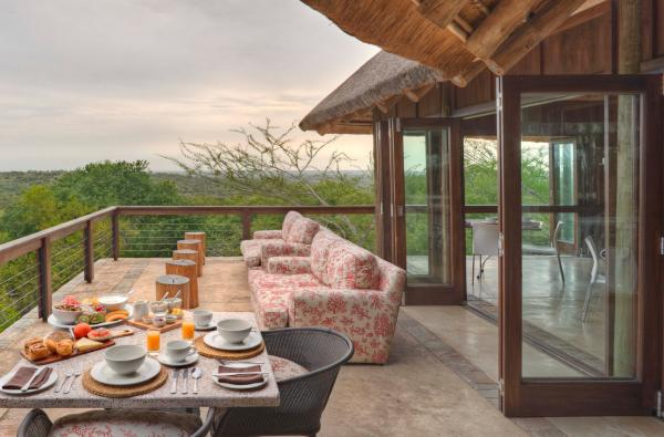 Enjoy Breakfast while admiring the breathtaking views