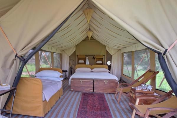 &Beyond Serengeti Under Canvas, Luxury Tent