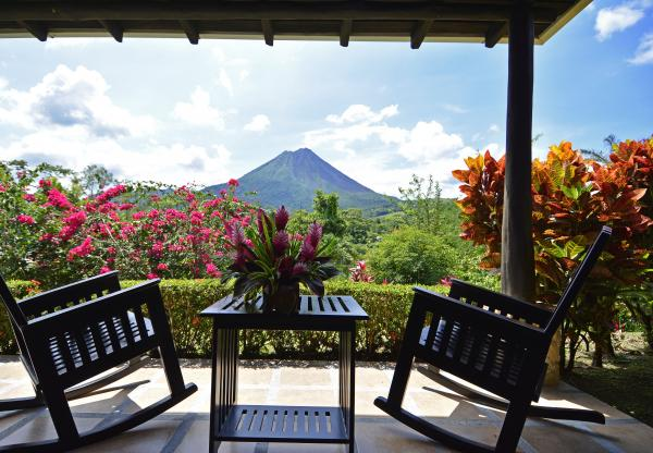 Stunning views from the Hotel Arenal Manoa