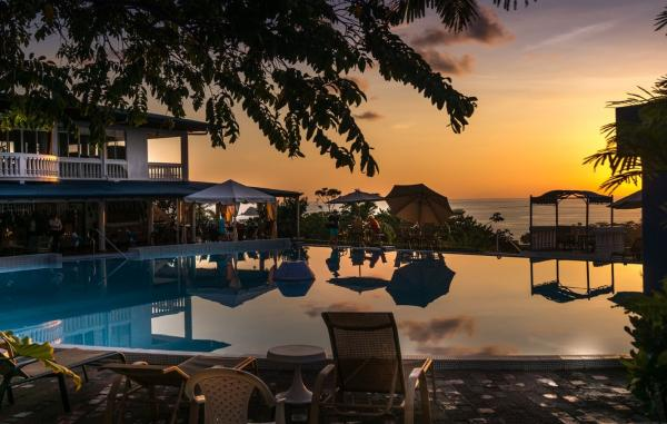 Sunsets at the Hotel Cristal Ballena