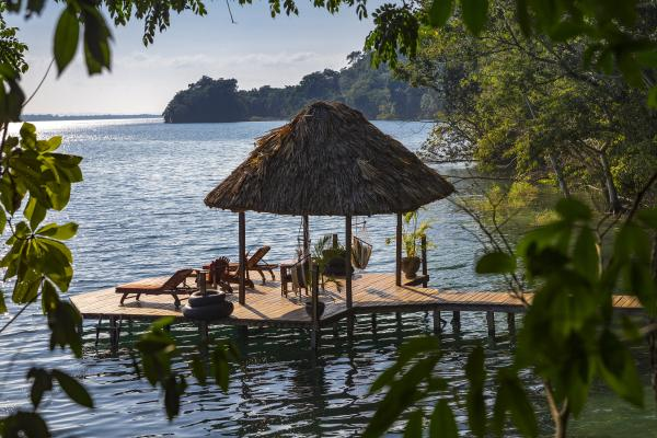 Situated on the shores of Lago Peten Itza, enjoy Guatemala during a stay at La Lancha