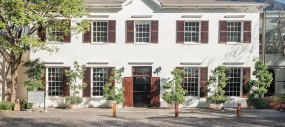 The front facade of the Vineyard, Cape Town