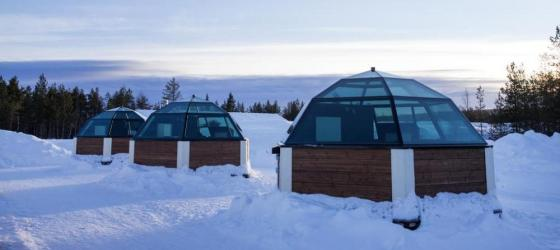 Arctic Snow Hotel and Igloo