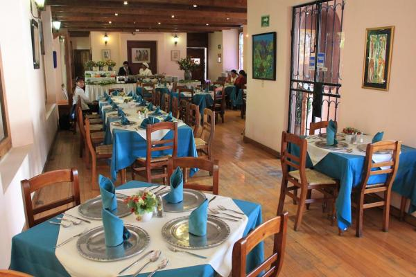 International, traditional and local cuisine is freshly prepared in the restaurant
