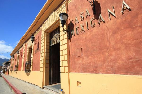 Experience a warm welcome at Hotel Casa Mexicana