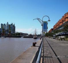 The waterfront, Puerto Madero
