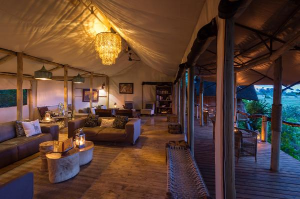 Relax in Tubu Tree's welcoming guest lounge