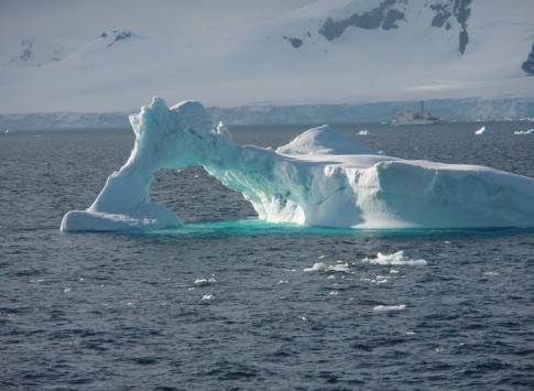 One of the first icebergs we encountered