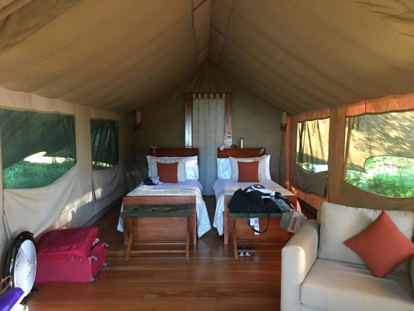 Galapagos Safari Camp tent