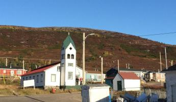 Arriving in Nain