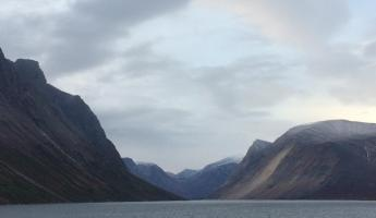 Fjord cruising, Torngat Mountains National Park