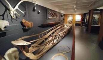 Umiak, Greenland National Museum