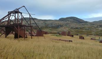 Abandoned whaling station, Grady's Harbour