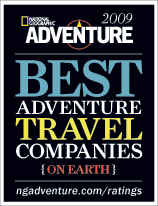 Best Adventure Travel Companies 2009