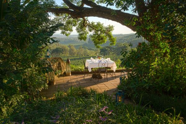Enjoy a picturesque meal at Gibb's Farm
