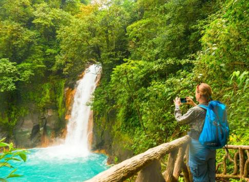 Discover stunning waterfalls in the jungle