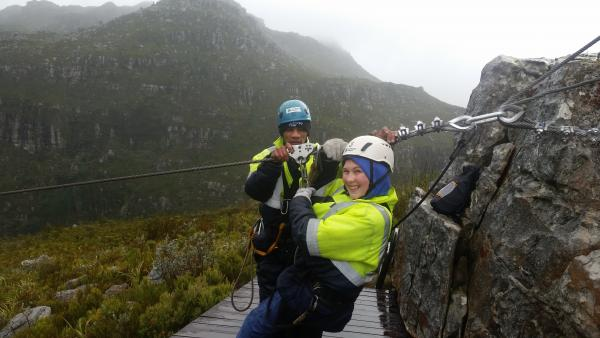 Zipline in Winelands