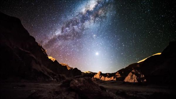 Stars in the Atacama Desert sky