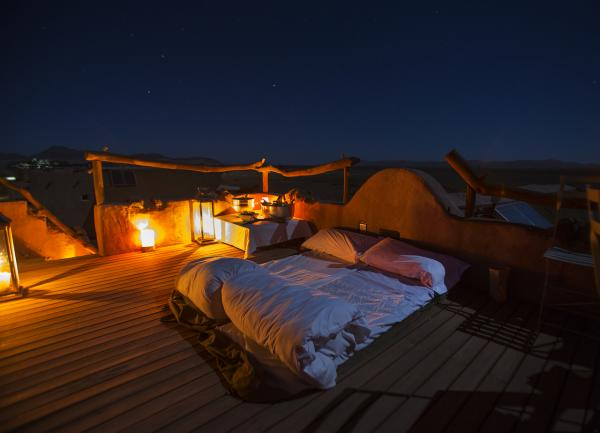 Sleep out under the stars at Little Kulala