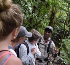 Learning from our guide, Nixon