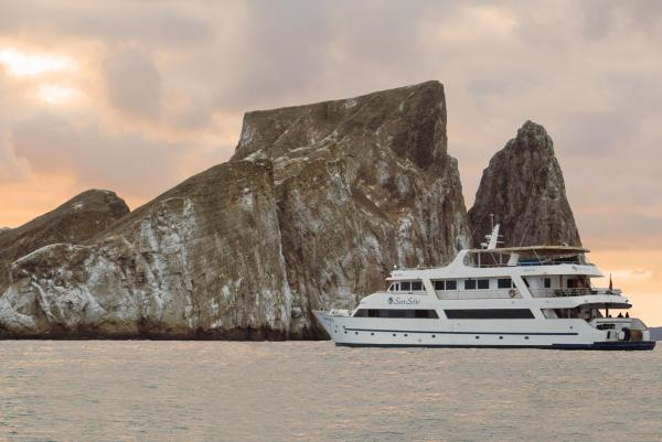 Stunning sunsets aboard the Galapagos Sea Star Journey