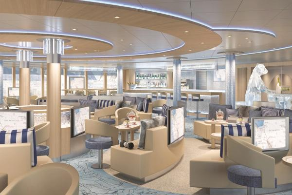 Lounge aboard the Endurance