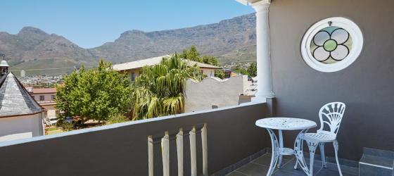 Enjoy a cup of coffee and the view of Table Mountain