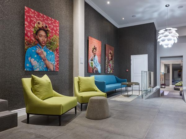 Lobby of Cloud 9 Boutique Hotel in Cape Town