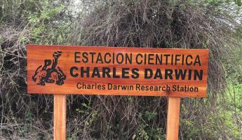 Charles Darwin Station on Santa Cruz