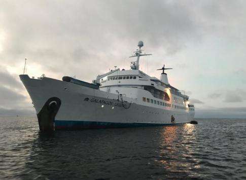 The beautiful 100-passenger Galapagos Legend