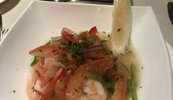 Some ceviche appetizer