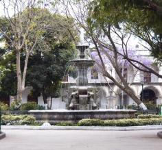 Parque Central in Antigua