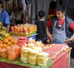 Fresh fruits at Chichicastenango