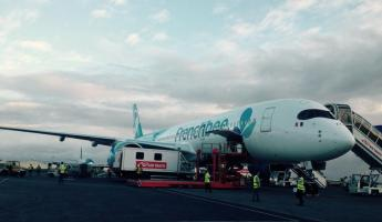 Arriving in Papeete, Tahiti!