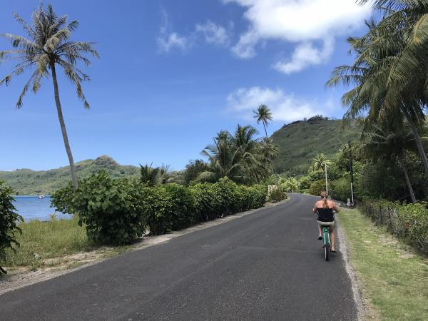 Rented bikes on Bora Bora for $10