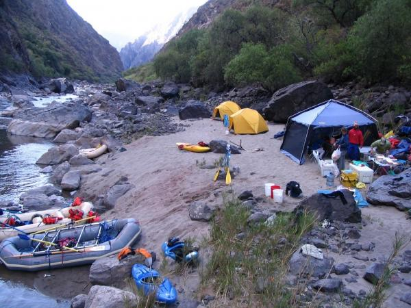 Whitewater Rafting in the Sacred Valley